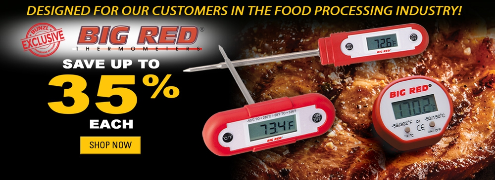 Save up to 35% on Big Red Thermometers