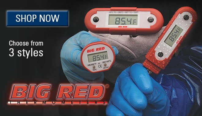 Big Red Digital Thermometers