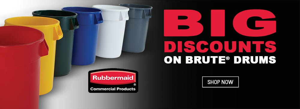 Rubbermaid Brute Drums