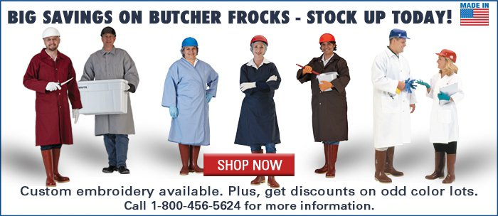Stock Up On Butcher Frocks