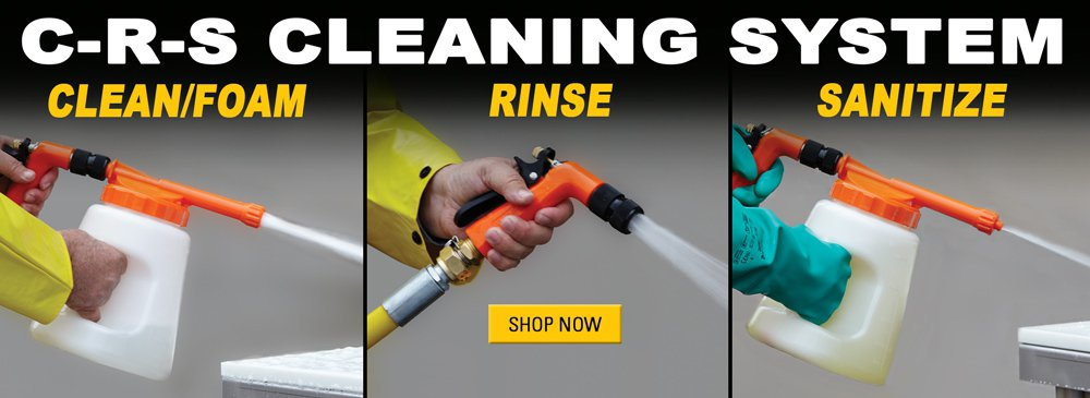 Save on the CRS Cleaning System