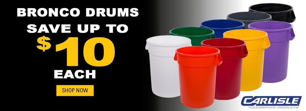Bronco Drums