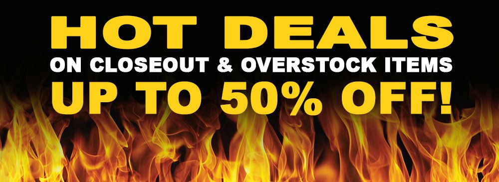 Save on Closeouts and Overstocks