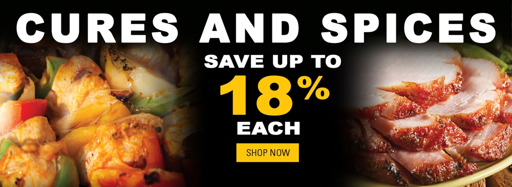 Save on Cures and Spices