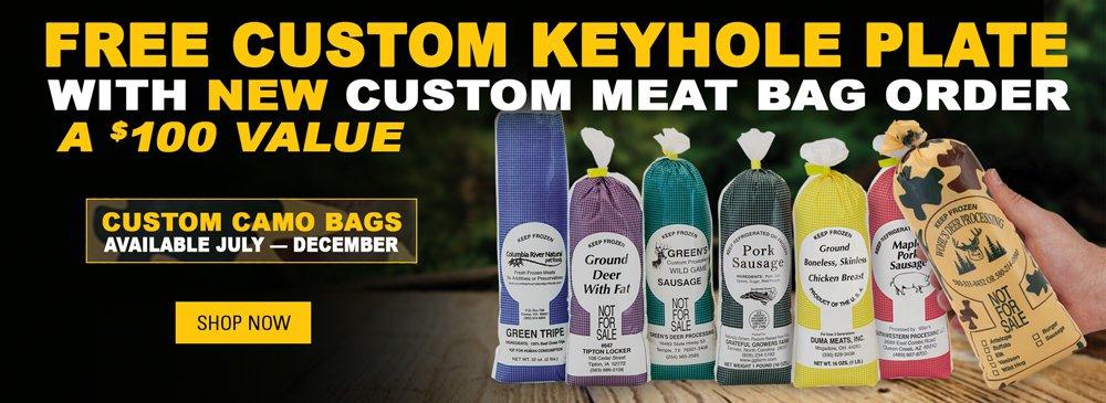 Free Custom Keyhole Plate
