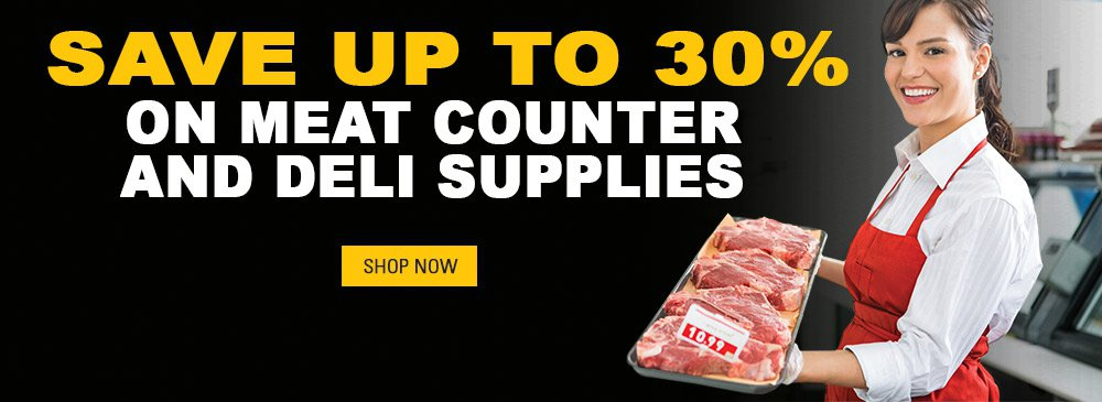 Save on Meat Counter Supplies