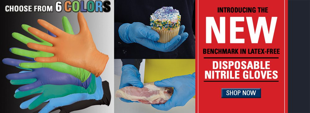NEW Nitrile Disposable Gloves