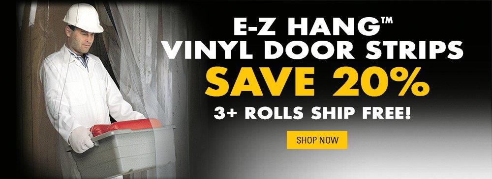 Save on EZ Hang Door Strips
