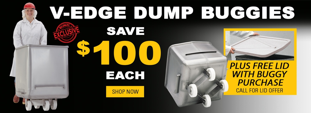 V-Edge Dump Buggy – Save $100 Each and Receive a Free Poly Lid