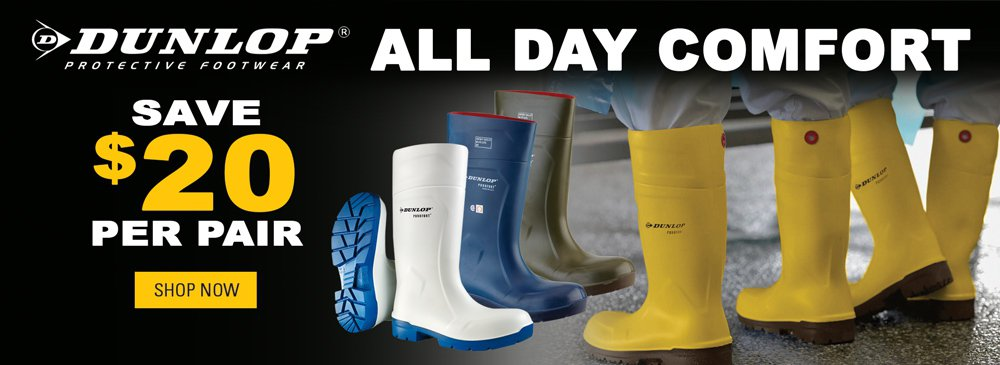 Save on Dunlop Purofort Boots