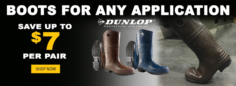 Save up to $4 on Dunlop DuraPro Boots