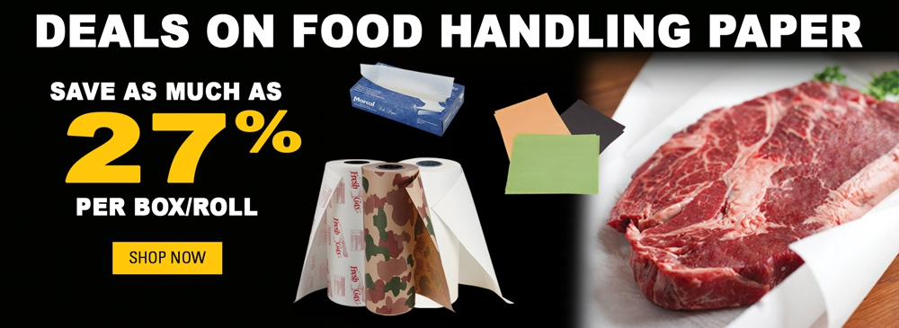 Save on Food-Handling Paper