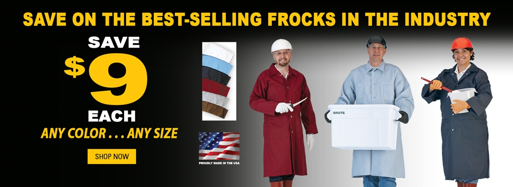 Save on the Best-Selling Frocks in the Industry - Save $9 on any color or size.