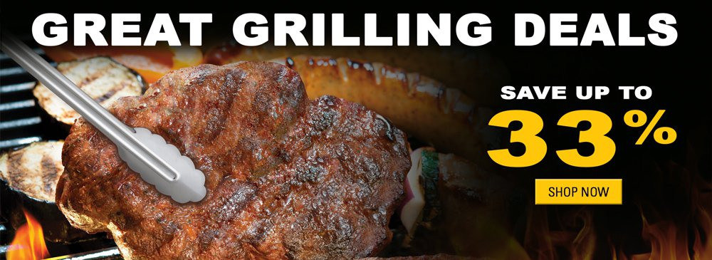 Great Grilling Deals