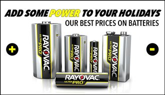 Deals on Batteries