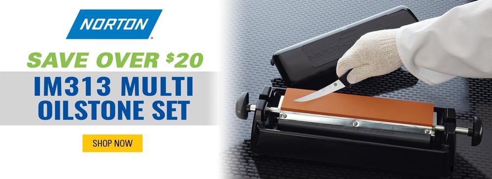 Save over $20 on Norton Multi Oilstone Set