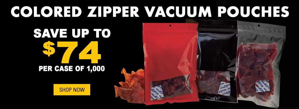 Save on Zipper Vacuum Pouches