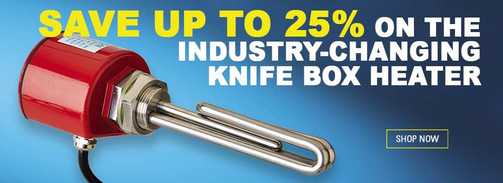 Rust Proof Knife Box Heaters