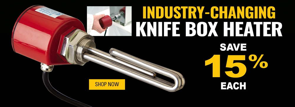 Save 15% on Industry-Changing Knife Box Heater