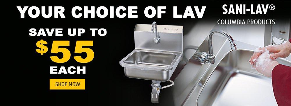 Save on Lavatories