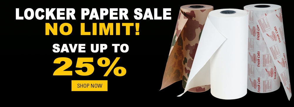 Sale on Locker Paper