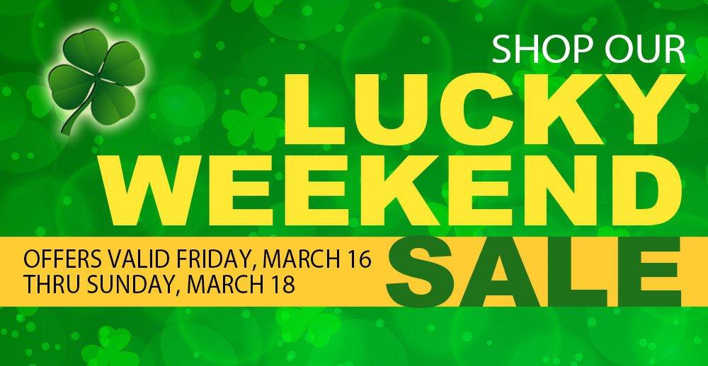 Lucky Weekend Sale