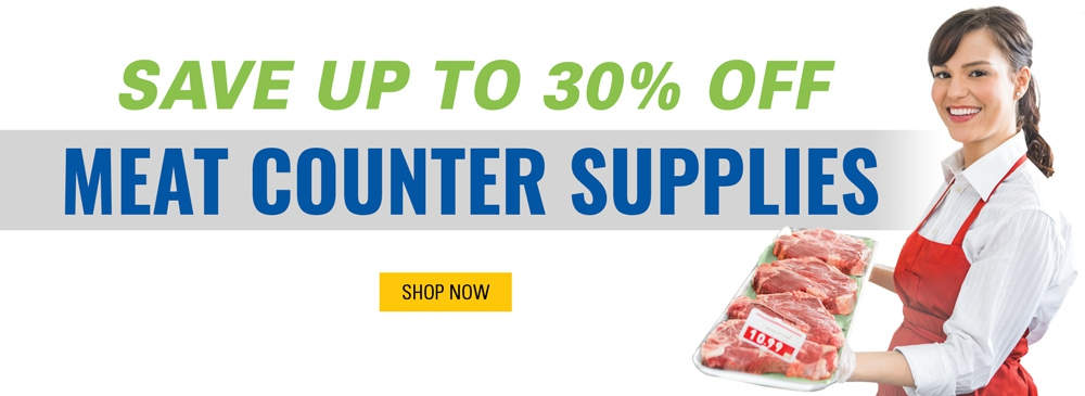 30% Off Meat Counter Supplies