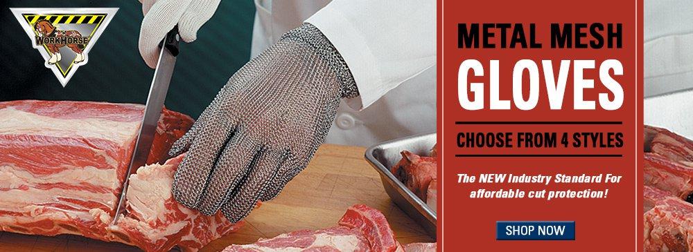Workhorse Metal Mesh Safety Gloves