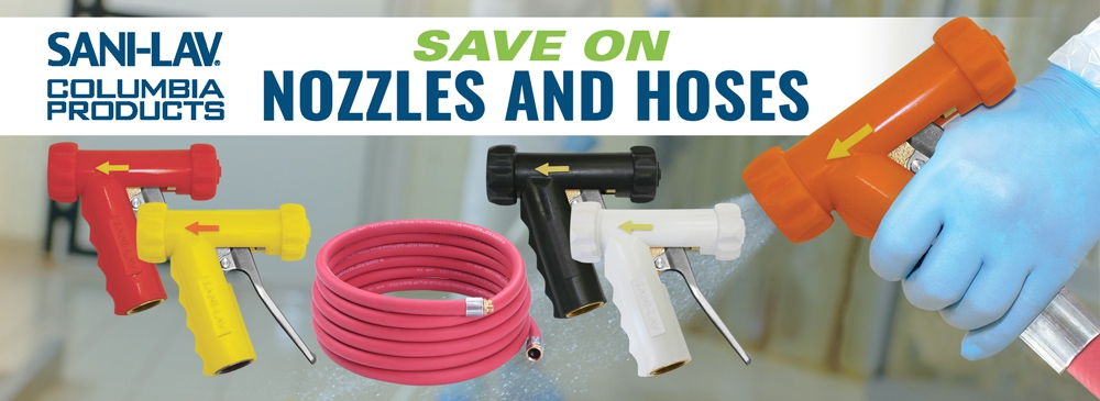 Save on Nozzles and Hoses