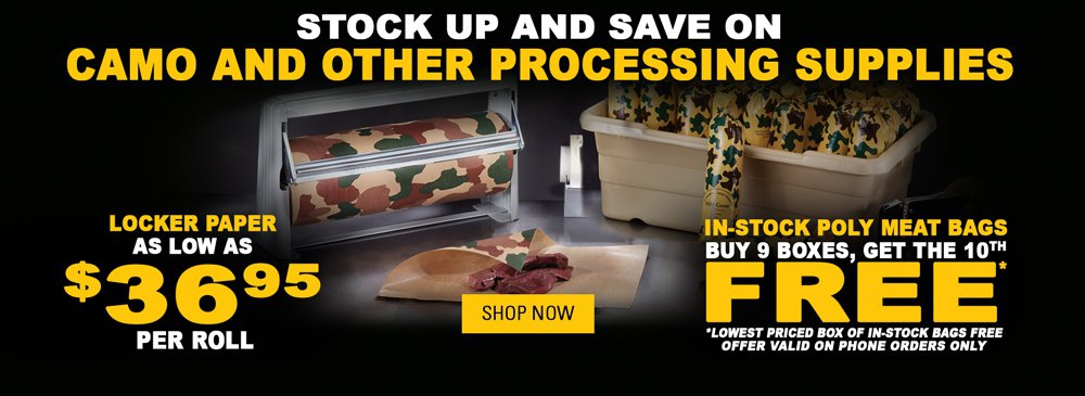 Stock Up and Save on Processing Supplies