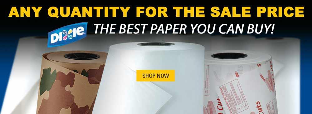 Save on Food-Handling Paper