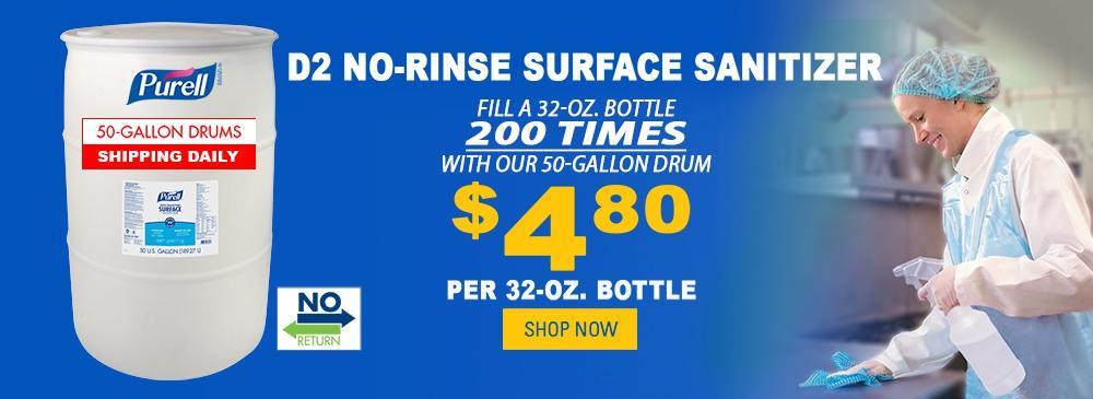 Purell No-Rinse Surface Sanitizer Drum