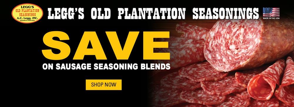Save on Sausage Seasoning Blends