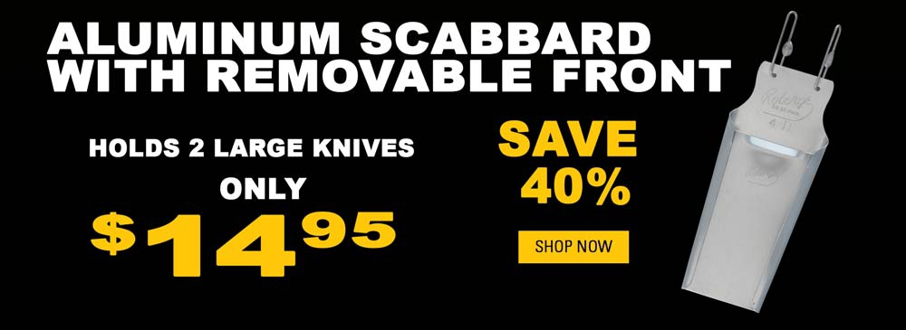Save on Aluminum Scabbard