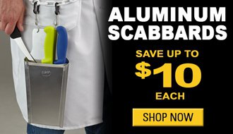 Save Up to $10 on Aluminum Scabbards