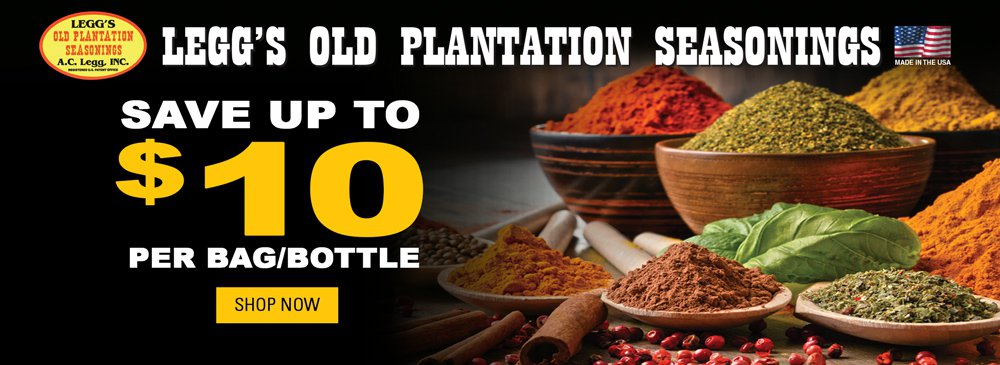 Legg's Old Plantation Seasonings