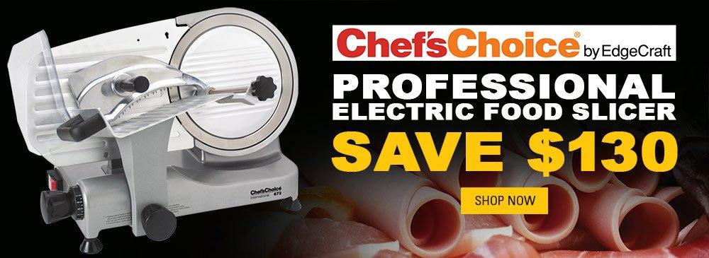 Save on Electric Food Slicer