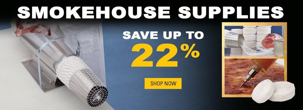 Save on Smokehouse Supplies