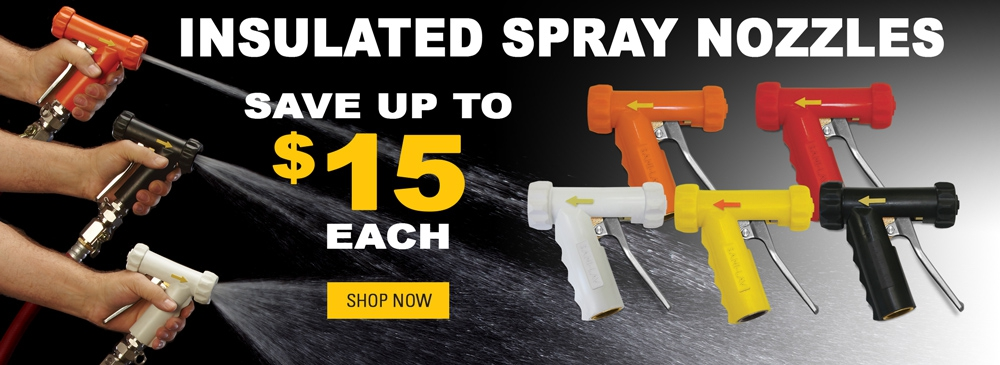 Save up to $15 each on Hot Water Nozzles