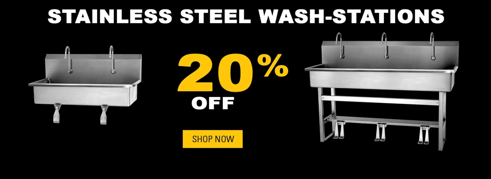 20% Off Wash Stations