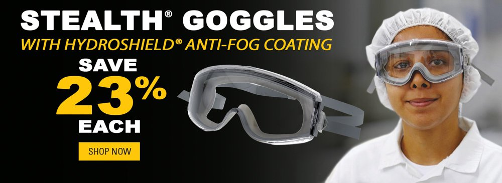 Save 23% on Stealth Goggles