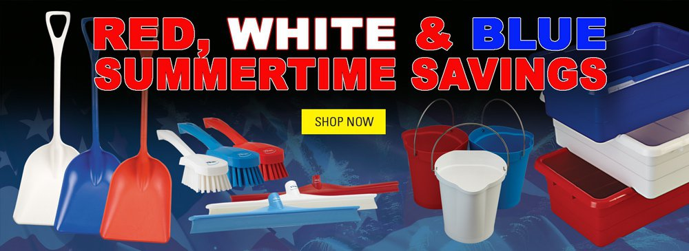 Red, White & Blue Summertime Savings
