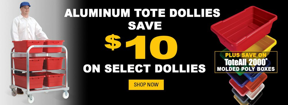 Save on Totes and Dollies