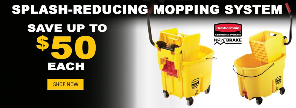 Save on Splash-Reducing Mopping System