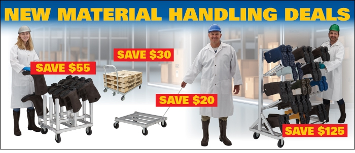 Material Handling Deals to Keep You Moving