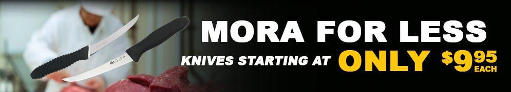 Mora for Less
