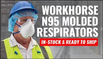 WorkHorse N95 Molded Respirators