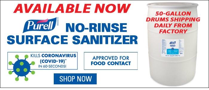 Purell Surface Sanitizer 50-gal Drum