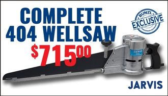 Jarvis 404 Wellsaw Complete Unit $715