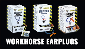Workhorse Earplugs